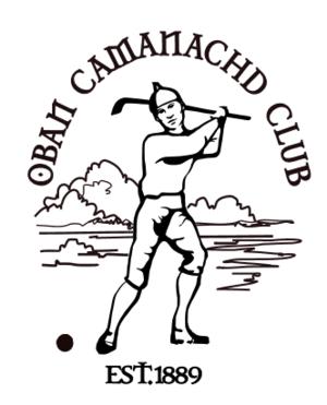Oban Camanachd - Badge of Oban