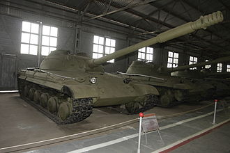 T-64 - Object 430 prototype on display at the Kubinka Tank Museum in September 2008