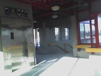 Tunney's Pasture station - Image: Oc tunneys 3 inside elev