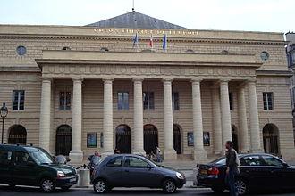 Marie-Joseph Peyre - Théâtre de l'Odéon, Paris