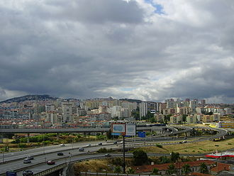 Odivelas - The urbanized core of Odivelas, intersected by many of the arterial expressways of the Lisbon Metropolitan Area