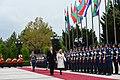 Official welcoming ceremony was held for Croatian President Kolinda Grabar-Kitarovic 13.jpg
