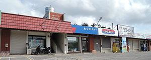 Chatan, Okinawa - Delta ticket office