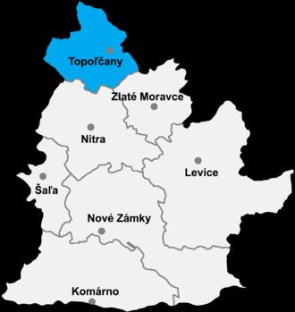 Horné Obdokovce - Topoľčany District in Nitra