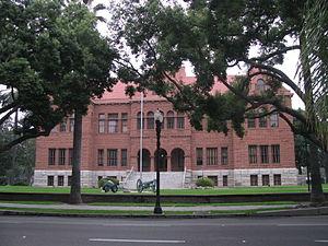 Old Orange County Courthouse (Santa Ana, California) - Old Orange County Courthouse - Front View