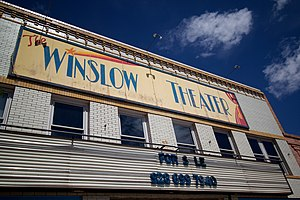 Old Theater, Winslow AZ