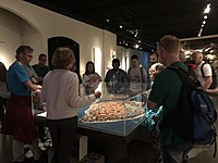 Old Town Culture Crawl No 2, the Museum of Medieval Stockholm, model of the medieval Stockholm.jpg