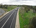 Olympic Highway looking north bound on the Boorooma Street overpass.jpg