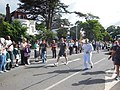 Olympic torch on Castle Hill, Reading (geograph 3129087).jpg