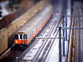 Orange Line tilt shift near Jackson Square, February 2013.jpg