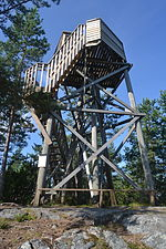 Oravivuori observation tower.JPG