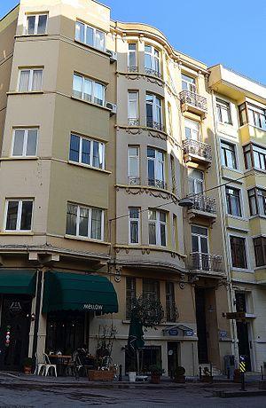 Orhan Kemal Literature Museum - Building of Orhan Kemal Museum in Cihangir, Istanbul, Turkey