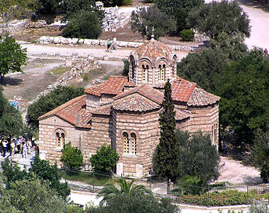 Orthodox church in Athens