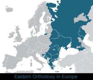 Eastern Orthodoxy in Europe - Eastern Orthodoxy in Europe