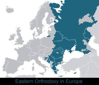 Byzantine commonwealth - Eastern Orthodoxy in Europe