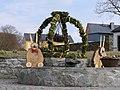 Osterbrunnen in Brünlos 2018 (1).JPG