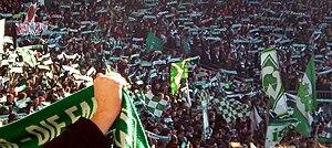 Weser-Stadion - Image: Ostkurve