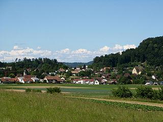 Othmarsingen Municipality in Switzerland in Aargau