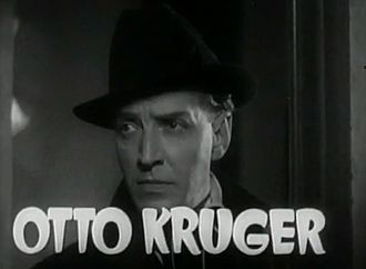 Otto Kruger - Kruger in Dracula's Daughter (1936)