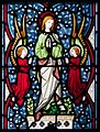 Our Lady's Island Church of the Assumption East Aisle Window Assumption 2010 09 26.jpg