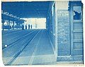 Outbound transfer shelter at Lechmere station, circa 1927.jpg