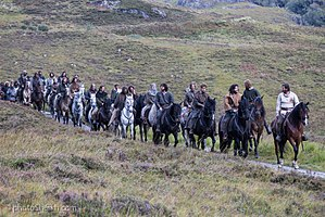 Outlaw King - Image taken at Glencoe of the Netflix film Outlaw King.