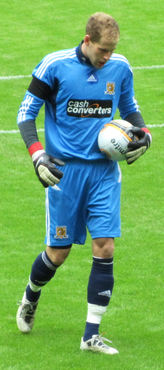 Péter Gulácsi - Gulácsi playing for Hull City in 2011