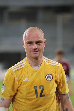 Pāvels Doroševs - Doroševs playing for Latvia
