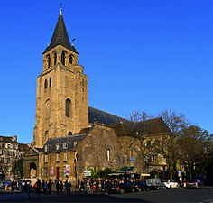 Abbaye de saint germain des pr s wikimonde for Carrelage du sud boulevard saint germain