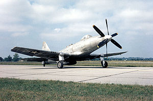 Fisher P-75 Eagle - The last production P-75A, now in the USAF Museum in Dayton, OH