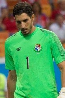 Jaime Penedo Panamanian footballer