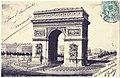 PARIS - Arc de Triomphe et place de l'Etoile 1907.jpg