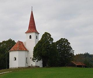Šmohor Place in Styria, Slovenia