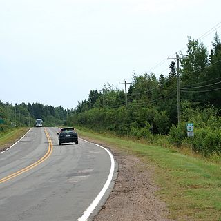 Prince Edward Island Route 2 highway in Prince Edward Island