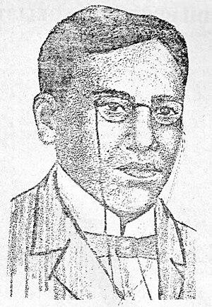 Edilberto Evangelista - Portrait Sketch of Edilberto Evangelista