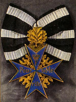 Pour le Mérite - Image: PL Meichenlaub