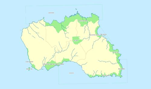 Module TalkLocation MapdataPortugal Nature Park Of Santa Maria - Portugal map wikipedia