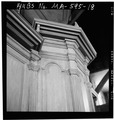 PULPIT, PANELING DETAIL - Old Ship Church, 88 Main Street, Hingham, Plymouth County, MA HABS MASS,12-HING,5-32.tif
