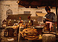PZ 6763 Cook in the rue de Stamboul, Constantinople, Turkey, 1890s.jpg