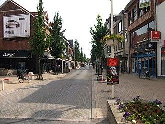 Schoten - Image: Paalstraat Schoten