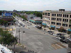 Allston - Packard's Corner is at the intersection of Commonwealth Avenue and Brighton Avenue in Allston.