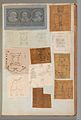 Page from a Scrapbook containing Drawings and Several Prints of Architecture, Interiors, Furniture and Other Objects MET DP372157.jpg