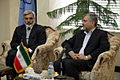 Pakistan Consul General met with the Mayor of Mashhad - Seyyed Sowlat Mortazavi and Qazi Habib ul-Rahman 8.jpg