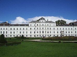 Johann Bernhard Fischer von Erlach - Image: Palais Augarten Vienna
