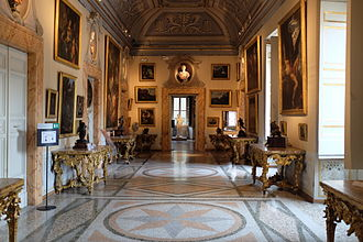 Galleria Nazionale d'Arte Antica - The exhibition in the Palazzo Corsini