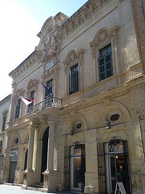 Banca Giuratale (Valletta) - View of the Banca Giuratale
