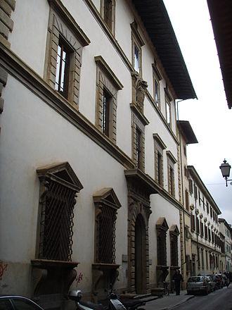 Palazzo Giugni - Facade on Via degli Alfani