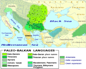 Paleo-Balkan languages in Eastern Europe between 5th and 1st century BC.png