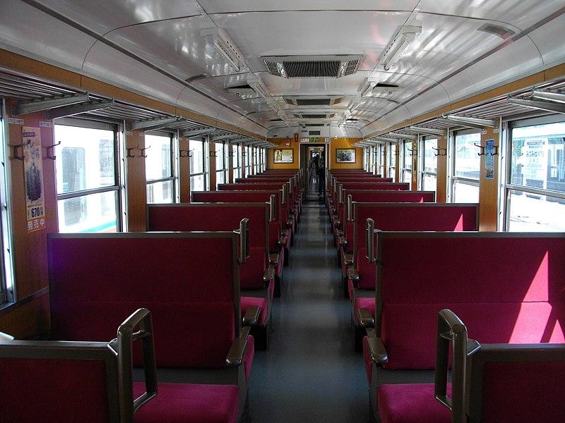 file paleo express passenger car interior jpg wikimedia commons. Black Bedroom Furniture Sets. Home Design Ideas