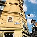 Paris 75002 Rue Montorgueil no 44 street sign 20180816.jpg